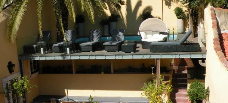 Hotel Palacio Ramalhete: Terrazza LISBONA
