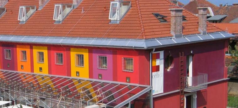 Hostel Celica: Facade LJUBLJANA