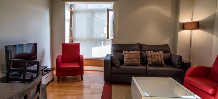 Hotel Miracielos: Living Room LLANES