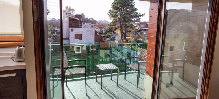 Hotel Miracielos: Terrace LLANES
