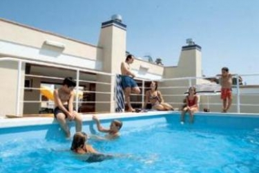 Hotel Vila De Mar: Außenschwimmbad LLORET DE MAR - COSTA BRAVA