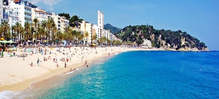 Hotel Santa Rosa: Playa LLORET DE MAR - COSTA BRAVA