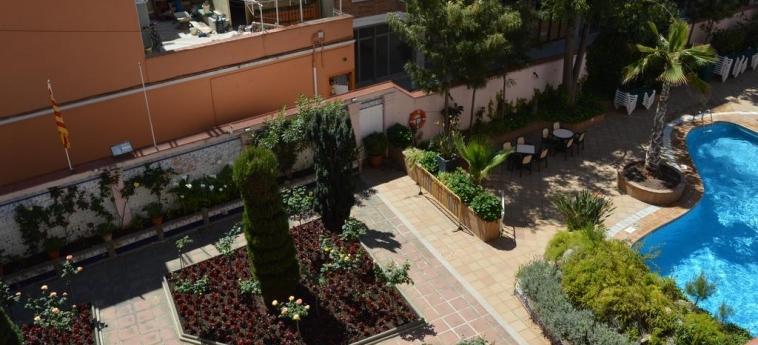 Hotel Guitart Rosa: Balkon mit Blick LLORET DE MAR - COSTA BRAVA