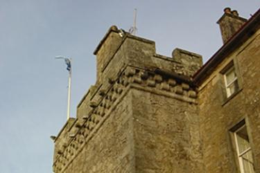 Hotel Culcreuch Castle: Außen LOCH LOMOND