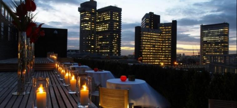 Hotel Hilton London Tower Bridge: Terrace LONDON