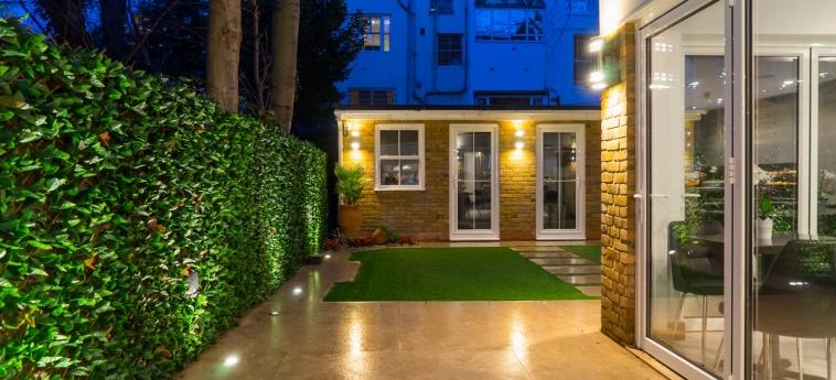 Hotel Kensington Prime: Garten LONDON