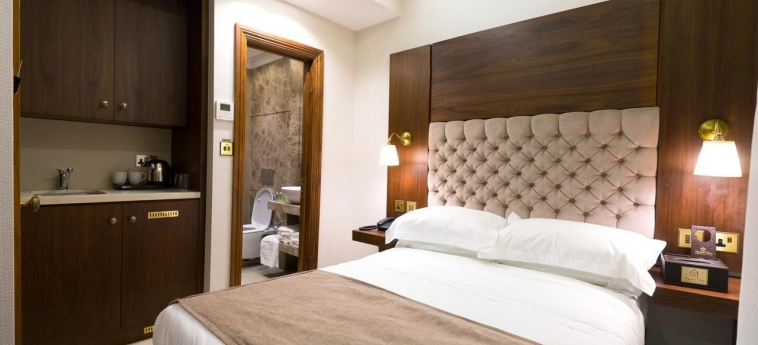 Hotel Kensington Prime: Schlafzimmer LONDON