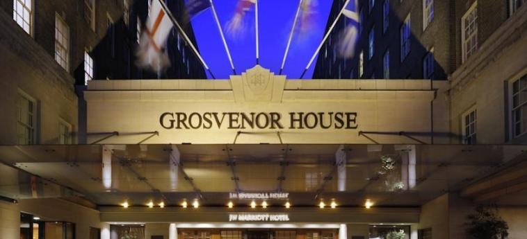 Grosvenor House, A Jw Marriott Hotel: Entrance LONDON