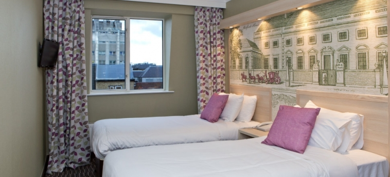 Hotel The President: Twin Room LONDON
