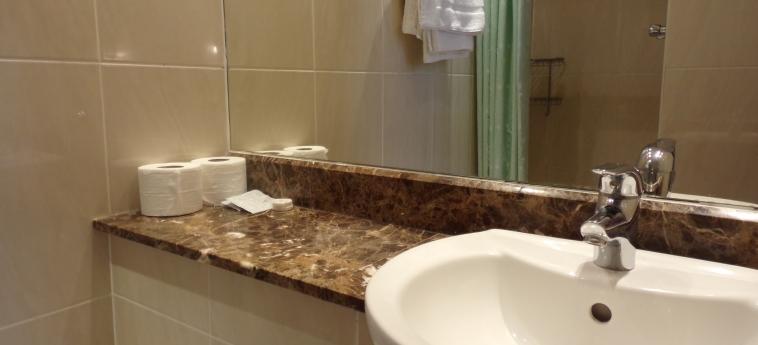 Hotel Wedgewood: Badezimmer LONDON