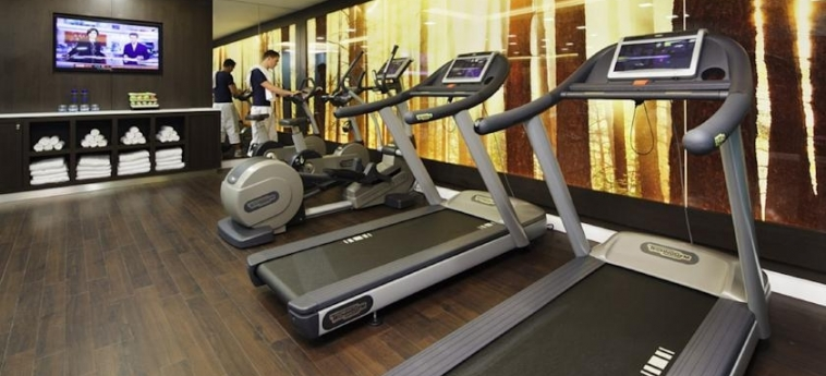 Hotel Novotel London Blackfriars: Salle de Gym LONDRES