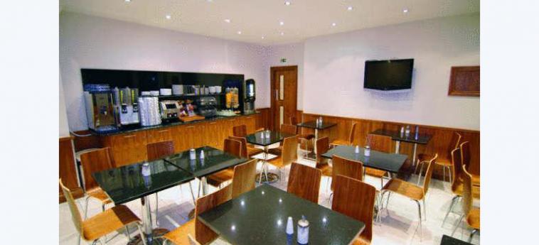 Hotel Westbury: Salle de Petit Déjeuner LONDRES