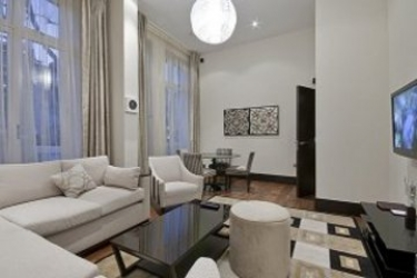 130 Queen's Gate Apartments: Living Room LONDRES