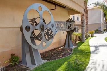 Hotel Best Western Plus Media Center Inn & Suites: Außen LOS ANGELES (CA)