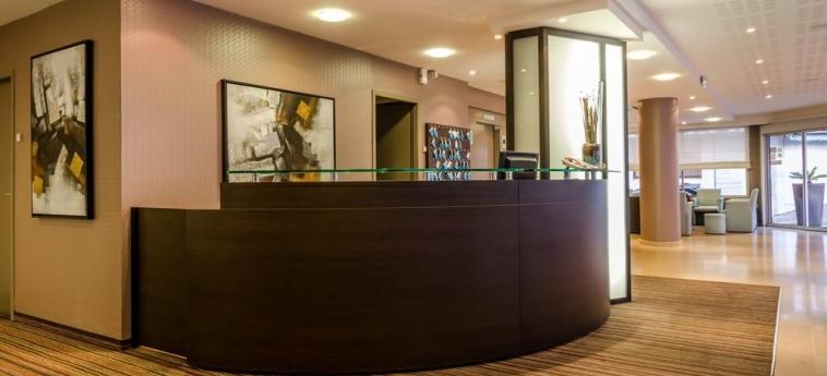 Hotel Helgon: Reception LOURDES