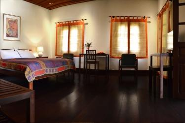 Hotel Villa Maydou: Area para fiesta de cumpleaños LUANG PRABANG