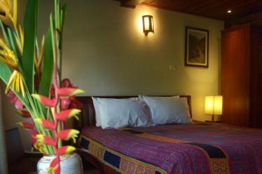 Hotel Villa Maydou: Gastzimmer Blick LUANG PRABANG