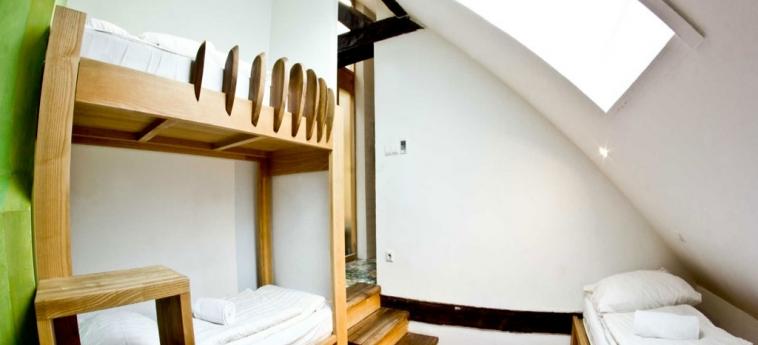 Hostel Celica: Vista de la habitación LUBIANA