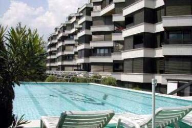 Hotel Cassarate Lago: Außen LUGANO