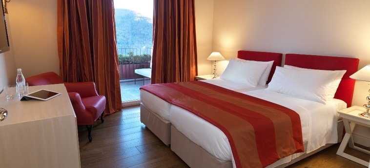 Hotel Resort Collina D'oro: Chambre jumeau LUGANO