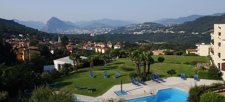 Hotel Centro Cadro Panoramica: Aussicht LUGANO