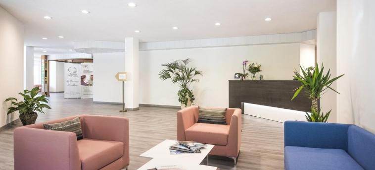 Hotel Centro Cadro Panoramica: Reception LUGANO