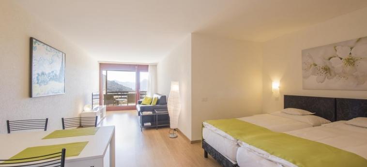 Hotel Centro Cadro Panoramica: Schlafzimmer LUGANO