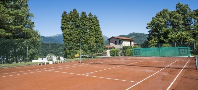 Hotel Centro Cadro Panoramica: Tennisplatz LUGANO