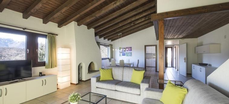 Hotel Centro Cadro Panoramica: Apartment LUGANO