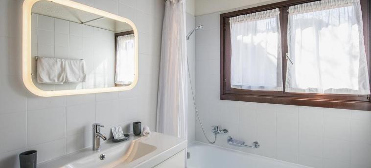 Hotel Centro Cadro Panoramica: Bathroom LUGANO