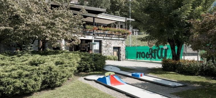 Hotel Centro Cadro Panoramica: Golf Course LUGANO