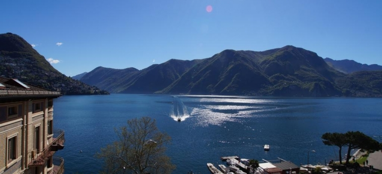 Hotel International Au Lac Historic Lakeside: Vista LUGANO