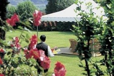 Hotel La Perla: Jardín LUGANO