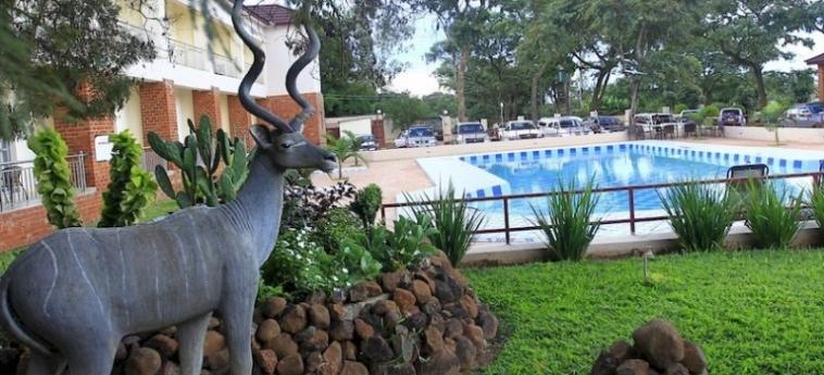 Chamba Valley Exotic Hotel: Montagne LUSAKA