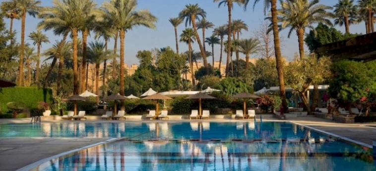 Hotel Pavillon Winter Luxor: Outdoor Swimmingpool LUXOR