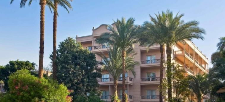 Hotel Pavillon Winter Luxor: Terrace LUXOR