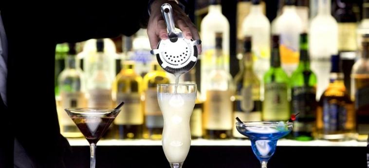 Hotel Marriott Lyon Cite Internationale: Bar Interno LYON