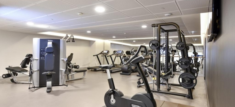 Hotel Marriott Lyon Cite Internationale: Gimnasio LYON
