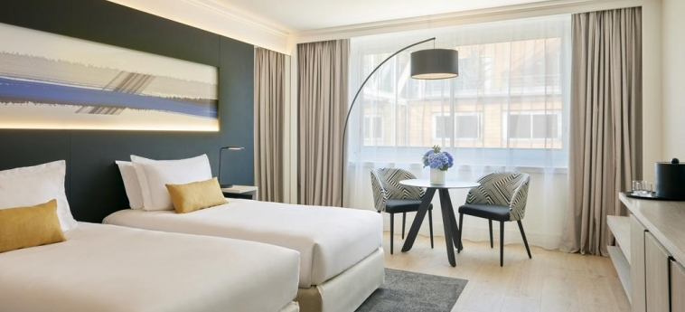 Hotel Marriott Lyon Cite Internationale: Habitaciòn Gemela LYON