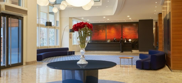 Hotel Marriott Lyon Cite Internationale: Reception LYON