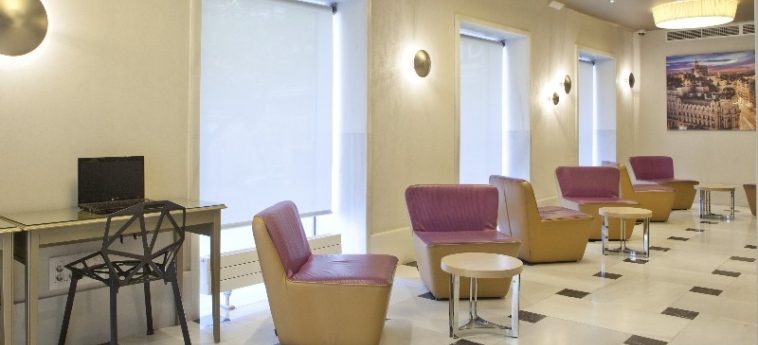 Hotel Regente: Lobby MADRID