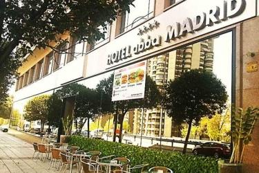 Hotel Abba Madrid: Terrasse MADRID