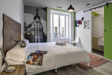 Hotel Safestay Madrid: Appartement Mercurio MADRID