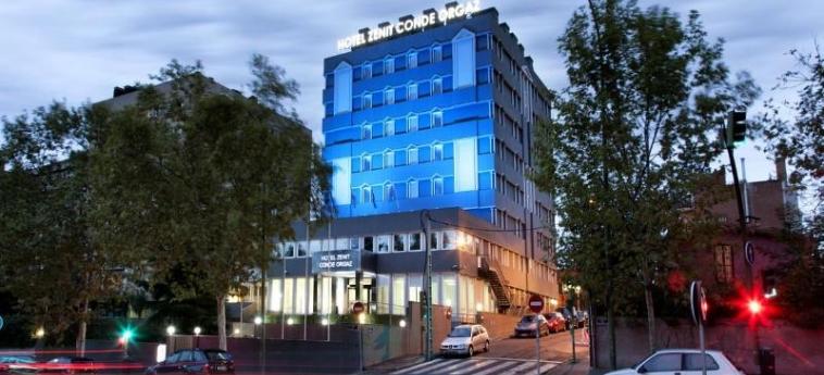 Hotel Zenit Conde Orgaz: Esterno MADRID