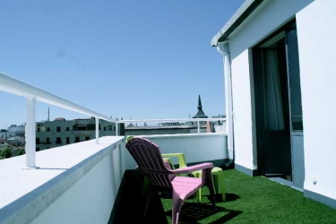 Hotel Anaco: Terrace MADRID