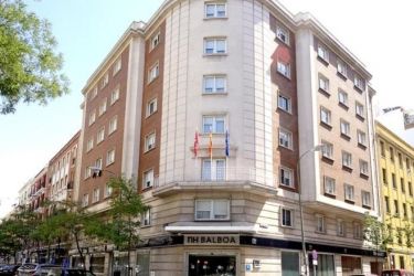 Hotel Nh Madrid Balboa: Exterieur MADRID