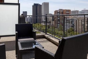 Hotel Ac Aitana By Marriott: Terrasse MADRID