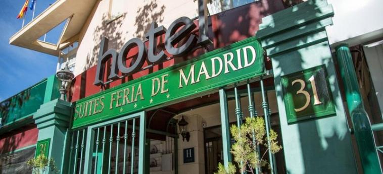 Hotel A&h Suites Madrid: Exterieur MADRID