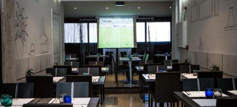 Hotel A&h Suites Madrid: Restaurant MADRID
