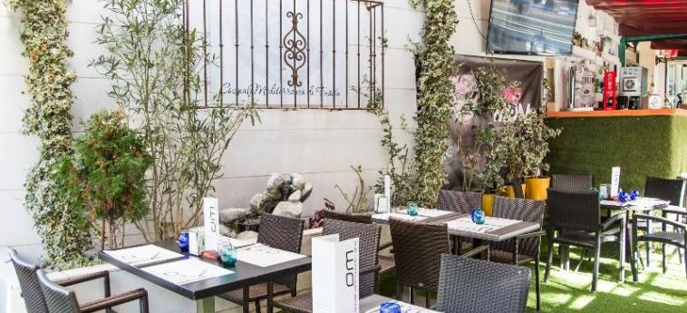 Hotel A&h Suites Madrid: Terrasse MADRID